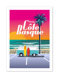 MB57004 Cote Basque-Van Sunset