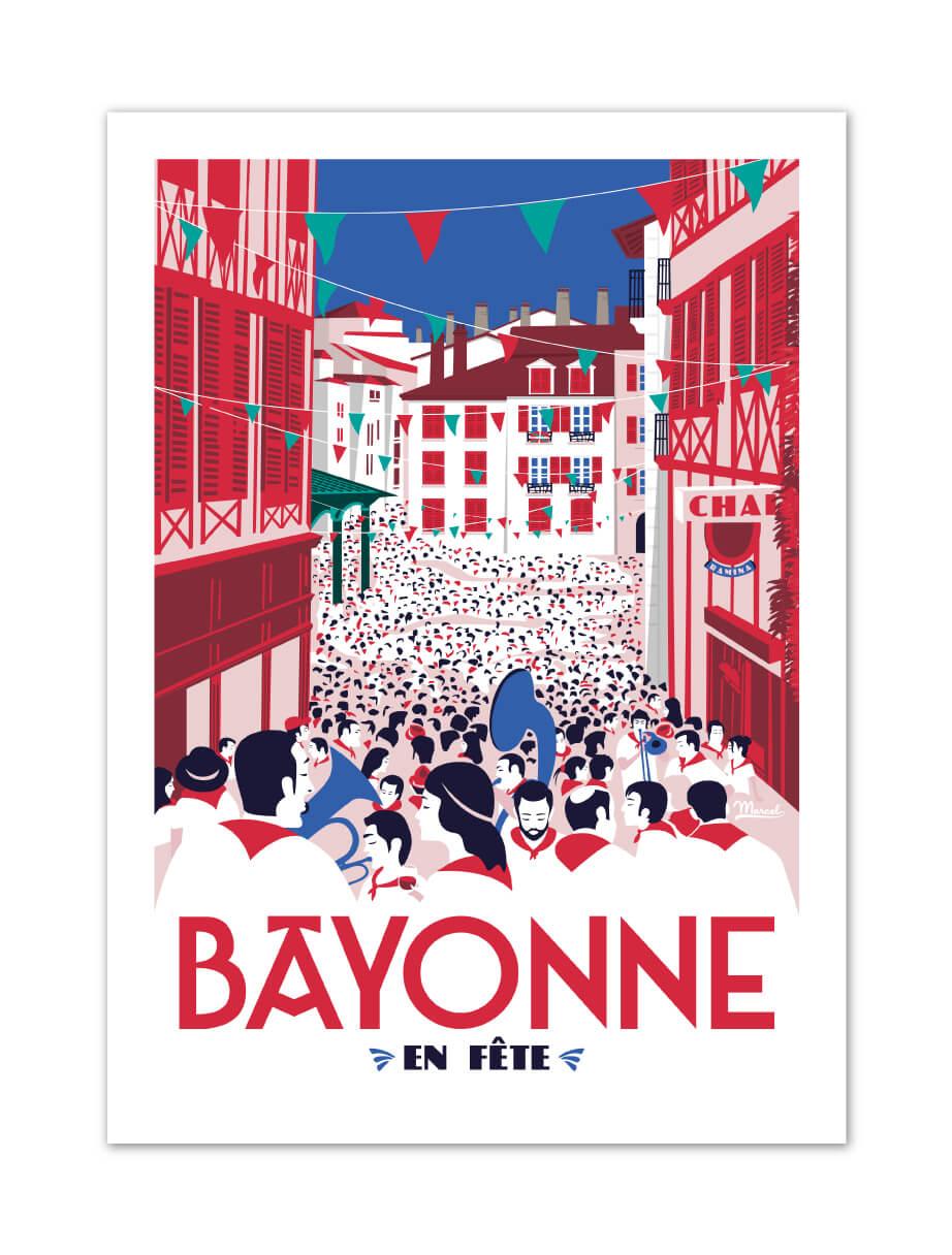 MB57017 Bayonne en Fête