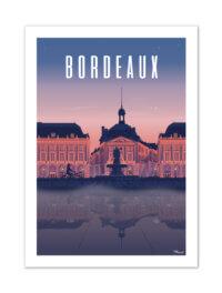 MB57067 Bordeaux-Place de la Bourse By Night
