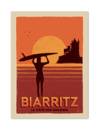MB57091 Biarritz-Côte des Basques