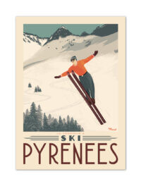 MB57115 Pyrénées-Tremplin à Ski