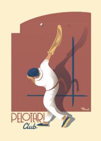 MB57255-Affiches originales Marcel PELOTARI 50cmx70cm 250g_m2